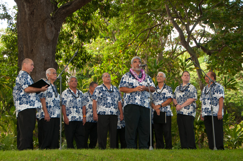 DSC_9747 Kamehameha Alumni Glee Club under the direction of Aaron Mahi