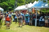 6mp-9649 Guests line-up for shave ice and local eats