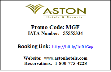 Aston Hotels - MGF Deal